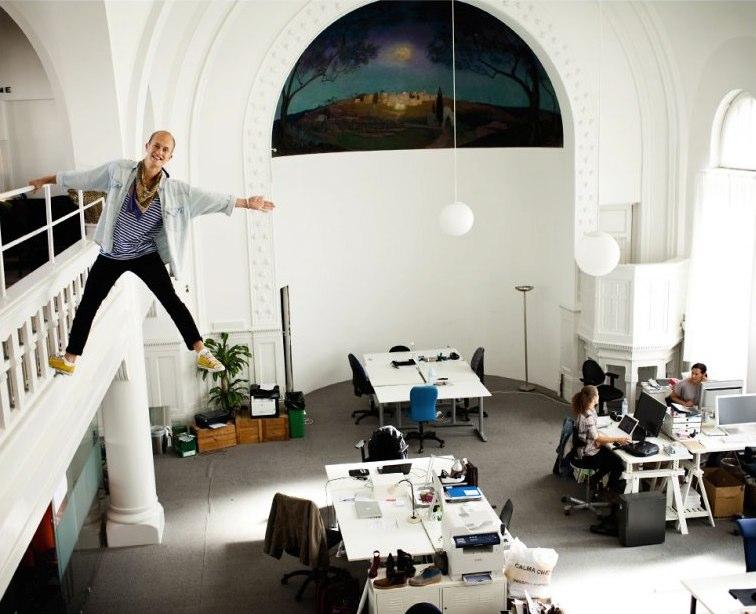 That's Jesper. Cred: entreprenorskyrkan.se